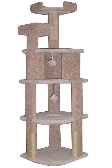 Cat furniture condos trees towers super corner for Cat condo plans free