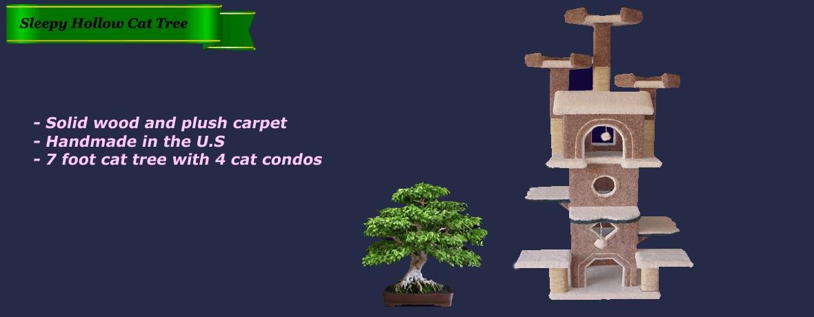 Sleepy Hollow Cat Tree