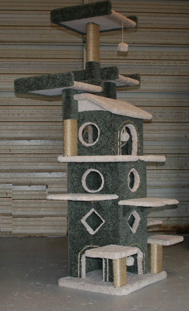 Custom Cat Trees Playtimeworkshop