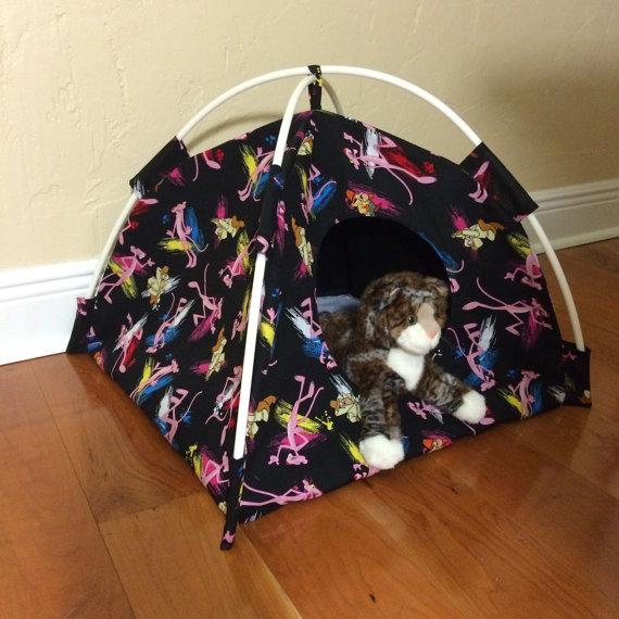 2-Pink-Panther-Modern-Cat-Tent ... & Pink Panther Modern Cat Tent - PlaytimeWorkshop.com ...
