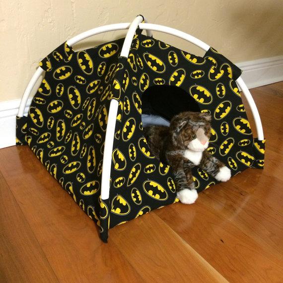 Batman Cat Tent Kitty Beds Playtimeworkshop Com