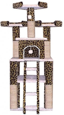Cat Tower quality stury tall large Big cat tree