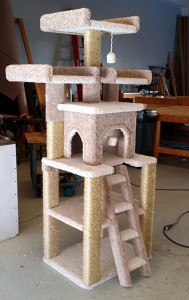 Large Bed cat tree