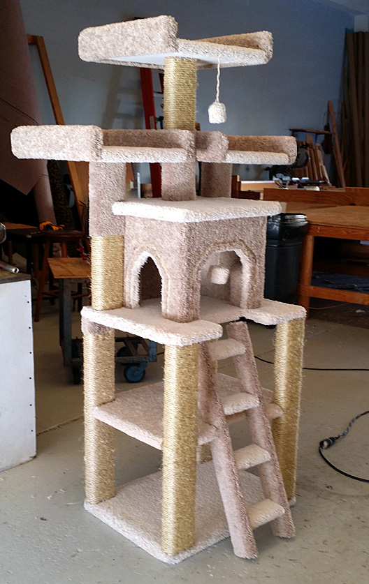 handmade cat tree custom cat trees playtimeworkshop 1000
